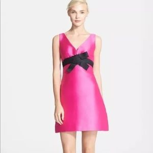 Kate Spade Origami A Line Pink Dress size 2